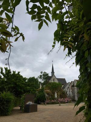 Das kleine Kirchlein auf der Île de Béhuard
