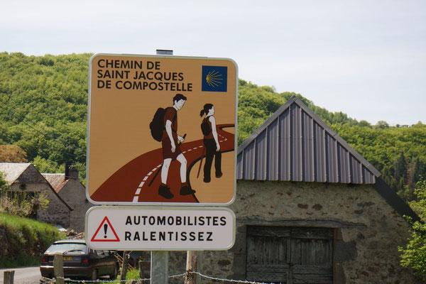 Die Jakbspilger werden ernst genommen in Frankreich
