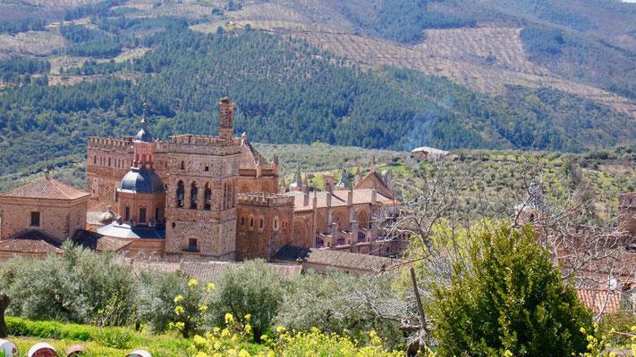 Halt in Guadalupe, ein weiteres UNESCO Welterbe Spaniens....