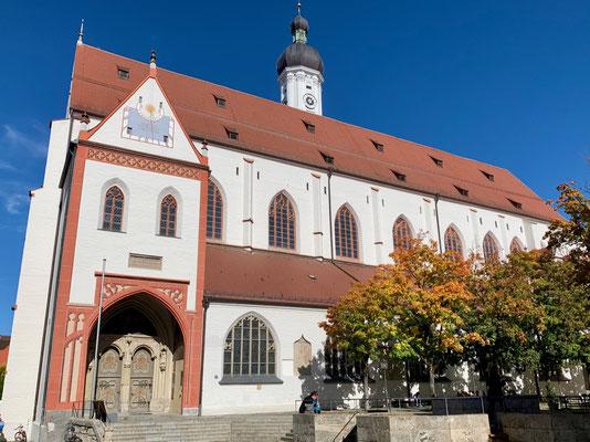 Die Stadtpfarrkirche Maria Himmelfahrt