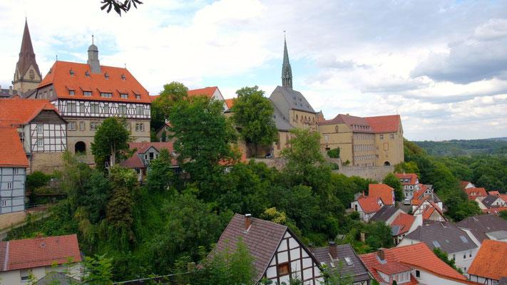 Über den Dächern von Warburg, ein kleines Juwel im Osten von Nordrhein Westfalen