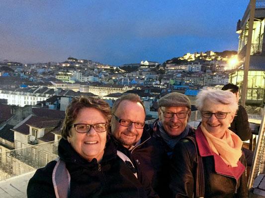 Das glückliche Kleeblatt vereint in Lissabon!
