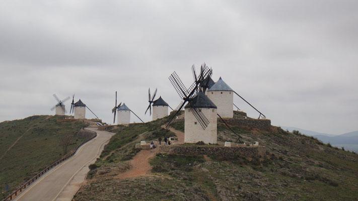 Die Windmühlen in Consuegra
