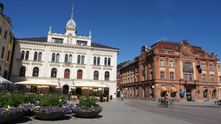 Das einstige Rathaus von Uppsala