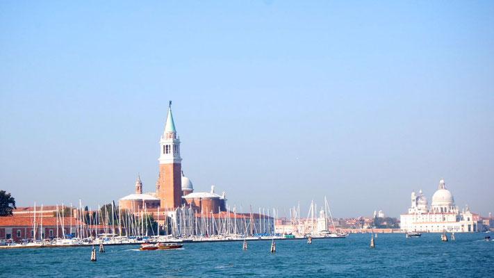 Bella Venezia, der Campanile lacht von weitem