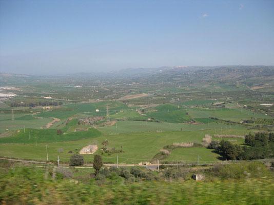 Unterwegs nach Caltagirone