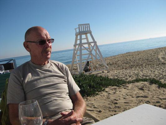 Am Strand von Ramatuelle