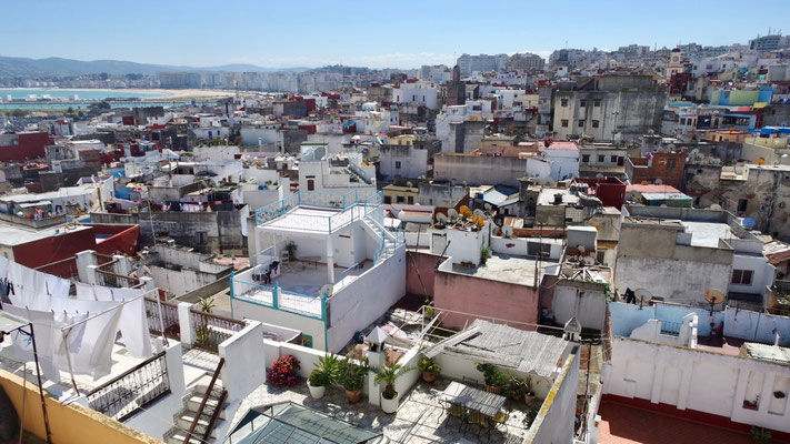 Über den Dächern von Tanger ....
