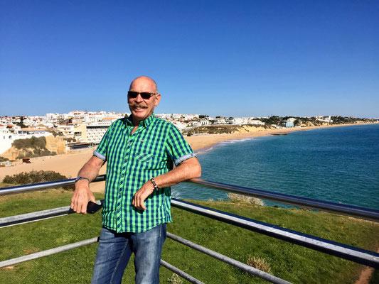 Besuch in Albufeira - ein ziemlich begehrter Touristenort der Algarve