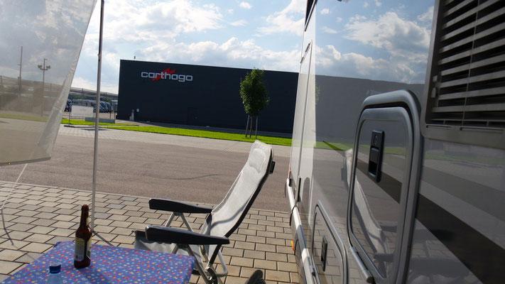 """Heisse (Warte)zeit aufs """"Fitnessprogramm"""" bei Carthago in Aulendorf"""