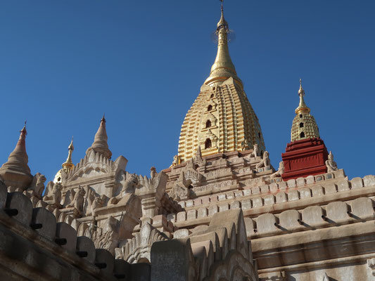 Eine von zig Pagoden - hier in Mandalay
