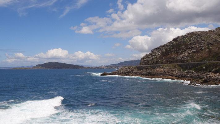 Fortsetzung der wilden Küste in Galizien