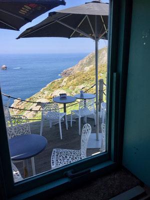 Noch ein entzückender Ausblick - auch am Kap Finisterre!