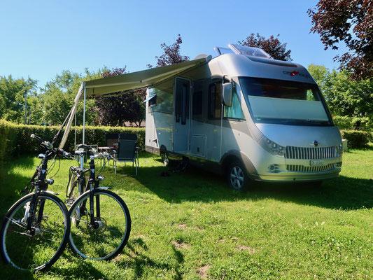 Nach 6 Jahren ist der Camping zum zweiten Mal unser Zuhause