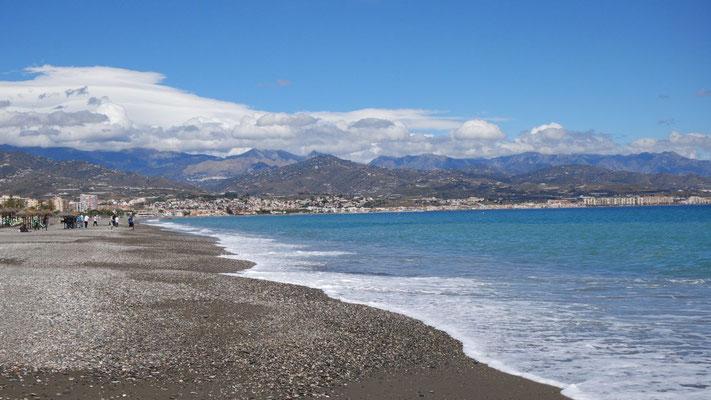Sonne, Strand und Berge an der Costa del Sol