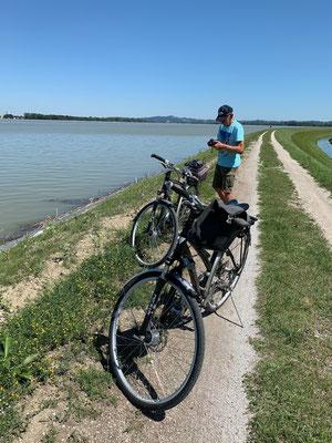 Mit dem Rad rund um den Ptuj-See