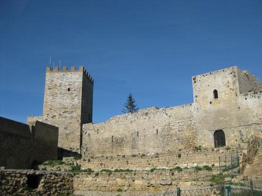 Das Castello von Enna
