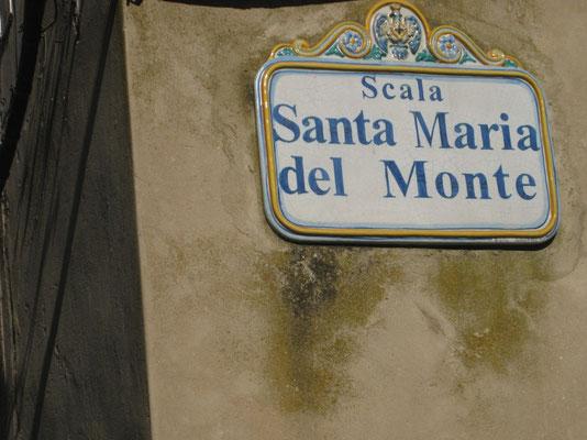 Die Scala Santa Maria del Monte