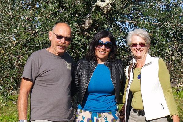 Sandra unsere Olivenfee