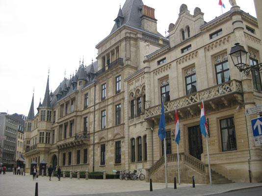 Der Palast, die Stadtresidenz der grossherzoglichen Familie