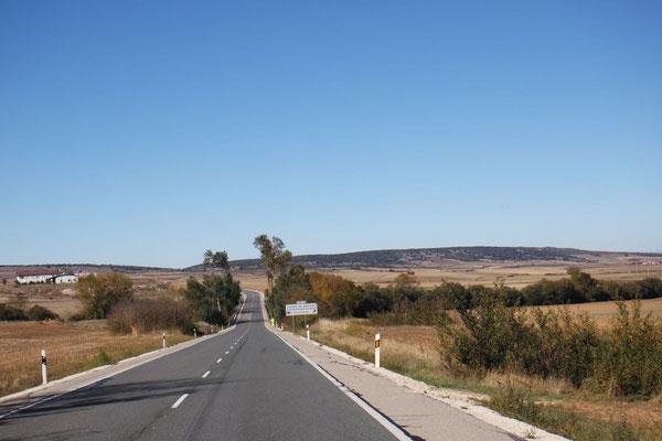 Auf dem Weg nach Burgos, der Jakobspilgerstadt