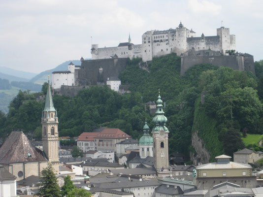 ... oder zum Wahrzeichen von Salzburg