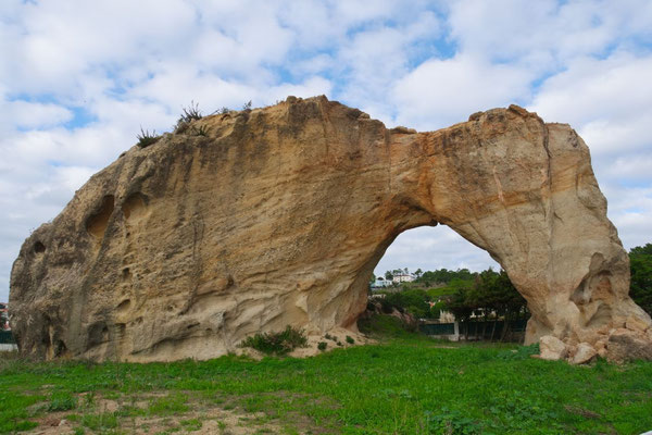 Der Bogen vom Arches-Nationalpark ist nach Foz do Arelho umgezogen