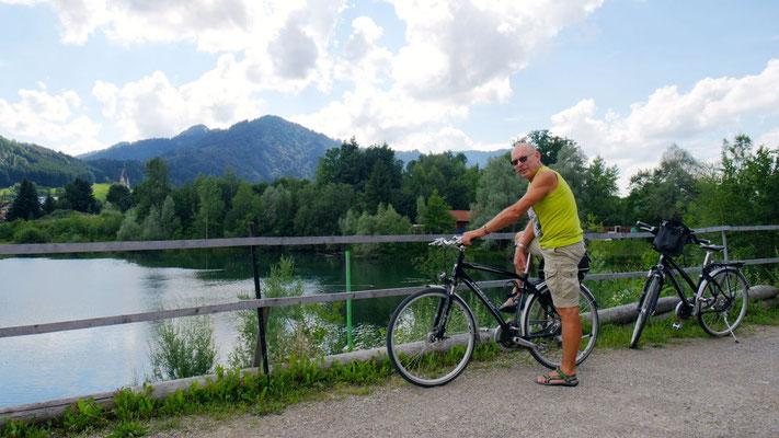 Radfahrgenuss pur von Blaichach nach Immenstadt