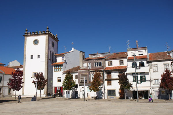 Im Zentrum des alten Bragança