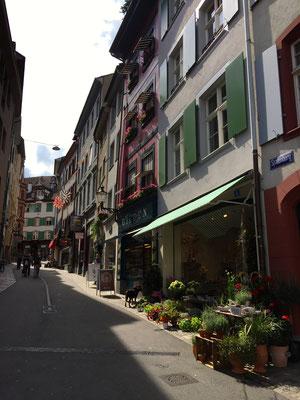 Auch die Altstadt von Basel ist durchaus ein Besuch wert