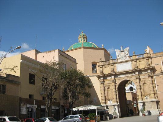 Auf in die Altstadt von Marsala