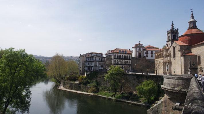 Amarante, das schmucke Städtchen liegt am Tâmega, einem Nebenfluss des Douro