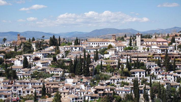 auf Andalusiens Perle: Granada