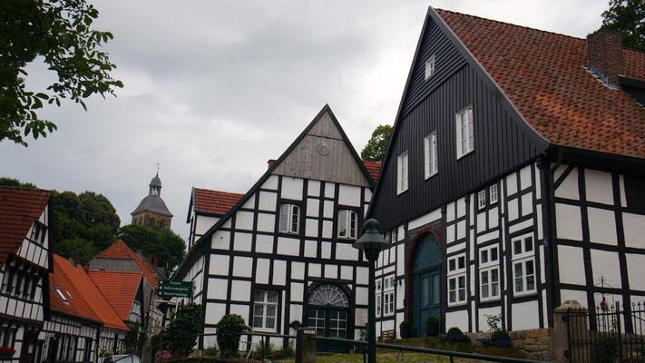 in seinem malerischen Heimatort bei Osnabrück in Nordrhein Westfalen