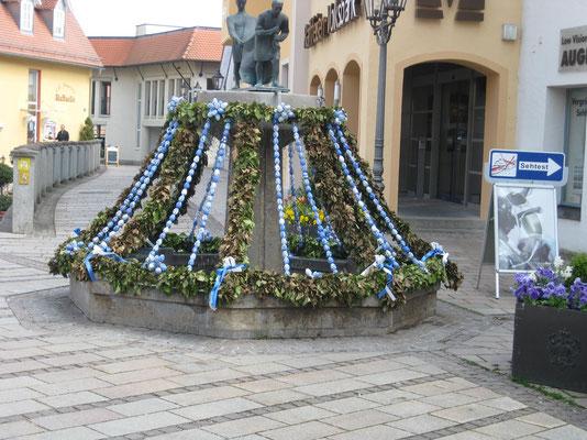 Osterschmuck in Donauwörth