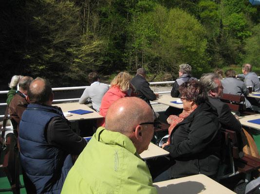 .... durch die Donauenge von Kelheim nach Weltenburg
