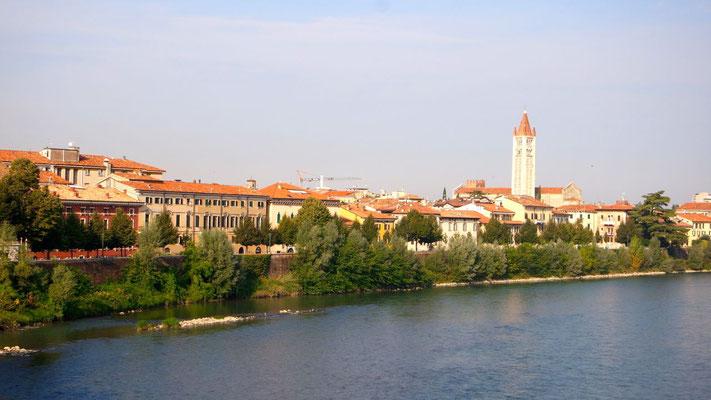 entlang der Adige (Etsch)