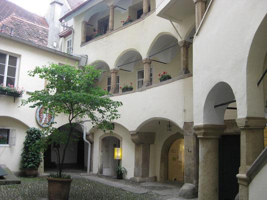 Graz und seine Innenhöfe