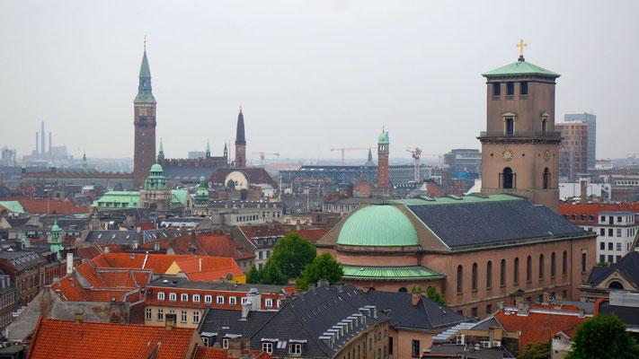 Die Aussicht vom Runden Turm aus 34 Meter Höhe