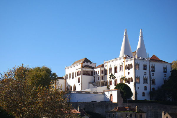 Beeindruckendes Nationalschloss in Sintra