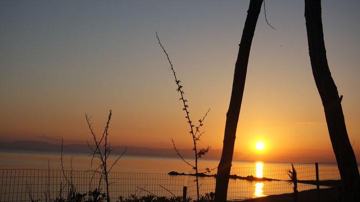 Über Zakynthos legt sich die Sonne schlafen