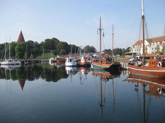 Einkehr am Hafen in Kirchdorf