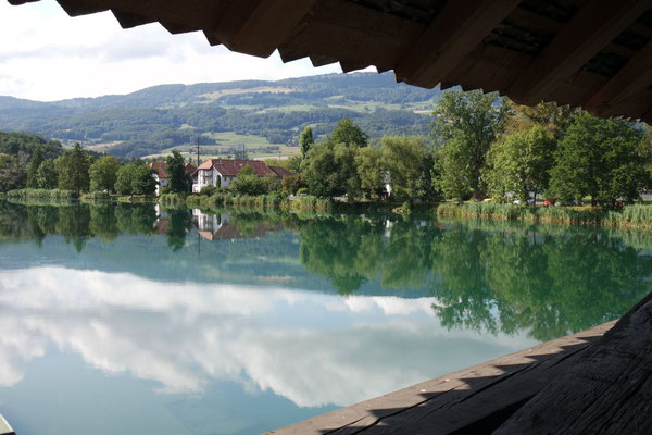 Ein Stück Heimat - auf der Holzbrücke in Wangen a/Aare