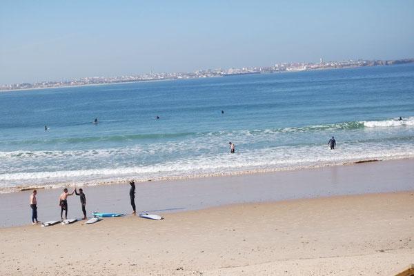 Surferlatein in Baleal