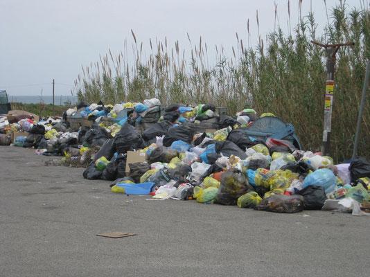 Wo Abfallberge sich erheben ...