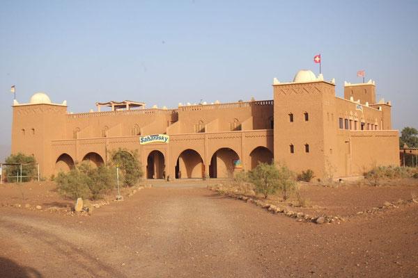 Zu guter Letzt ist das Sahara-Sky Hotel doch noch in Sicht