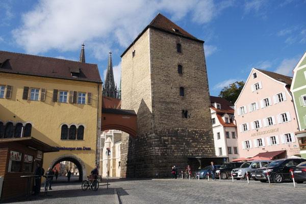 Zur Regensburger Altstadt