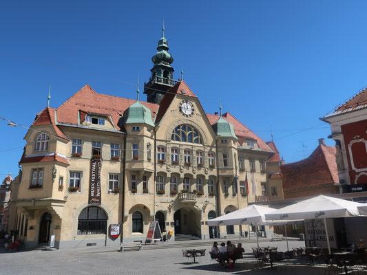 Die Piazza in Ptuj
