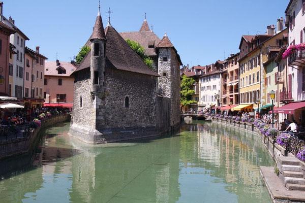 Im hübschen Städtchen Annecy