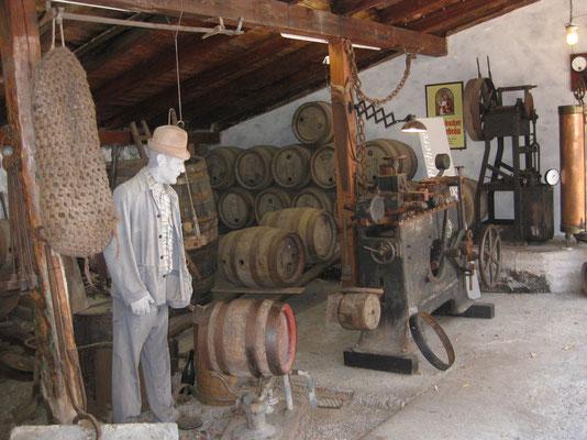 Brauerei-Utensilien von damals